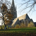 church view from grounds