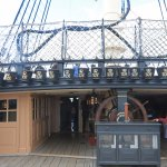 Victory view of captains cabin