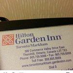 Photo de Hilton Garden Inn Toronto/Markham