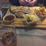 T Bone Steak with chips