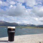 Pint of Guinness and the great landscape
