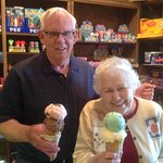 Old or young, everyone enjoys great Ice Cream