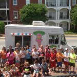 We even have an old fashioned Ice Cream Truck, so much fun!