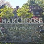 Ride your bike to Hart House Restaurant