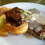 Vegetarian nut meatloaf