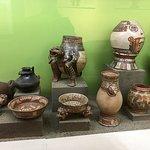 the indigenous artifact display