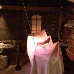 Frankenstein's Laboratory exhibit
