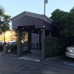 Entrance from parking lot - Indo Restaurant & Lounge in Palo Alto