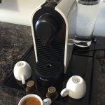 Pod Coffee Machine in all Deluxe and Premier Rooms