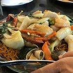 Shrimp noodles - BK Bistro Chinese Restaurant in Fremont
