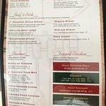 Thelma's menu