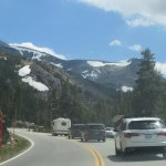Tioga Pass - Still Some Snow at Higher Elevations - August 2017