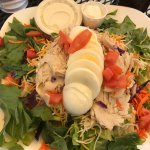 Chef's salad with Ranch