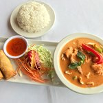 Lunch Special Red Curry