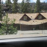 Swayed Roof Tioga Pass Resort (Currently Closed) due to Winter Damage 2017 Season