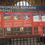 you can buy a pass to visit 3 roman sites or just one