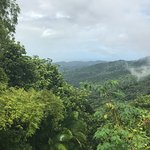 Puerto Rico Rain Forest - View from first plateau