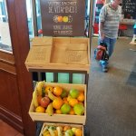 Complimentary take away fruit is a great option
