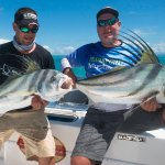 Double up on rooster fish