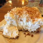 Coconut cream pie as a side, uh yes please