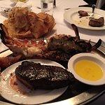 NY Strip & lobster