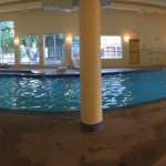 Indoor pool and hot tub in Rec Center