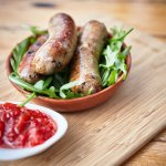Sausages made here at Green Olive @  Red Hill