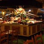 Buffet selection, Sea Food, Cold Meats & Fruit selection