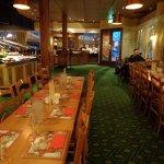 Main eating area