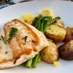 Arctic Char with Mixed Veggies and Potatoes
