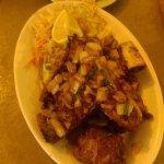 porc grillé poivre et sel