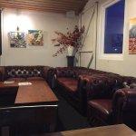 Upstairs lounge & dining area.