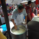 Bean Curd... THE most popular stall on Petaling... 9-8.30pm 7 days a week