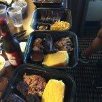 3 Meat BBQ Sampler