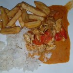 Chicken penang curry
