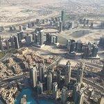 Wunderschöne Aussicht über Dubai