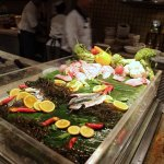 Grill fish station