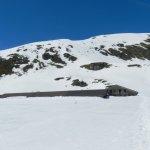 Indicazioni per pista con racchette da neve