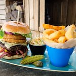 Chequers on the Green - Burger