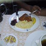 ....Schweinebraten & sauerkraut...