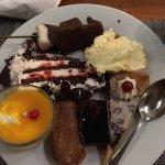 dessert in cafe lazare