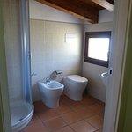 Il bagno, con finestra