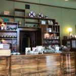 The walnut bar