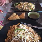 Pad Thai and fried rice