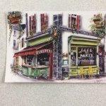 Le restaurant en version carte postale