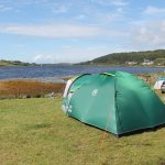 Stunning views at Kinloch campsite!