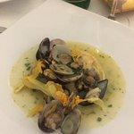 lasagnetta frutti di mare e lime