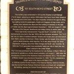 Central Florida Railroad Museum Plaque
