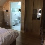 Large room leading to ensuite