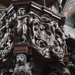 Talla del púlpito